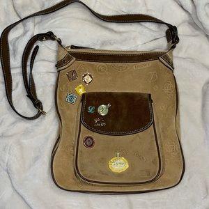 Loewe 160th Anniversary Nubuck Suede RARE Bag